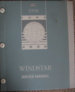 Image for 1998 Ford Windstar Service Manual