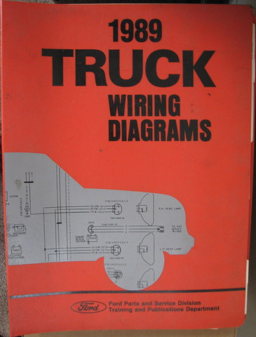 1989 ford truck wiring diagrams manual