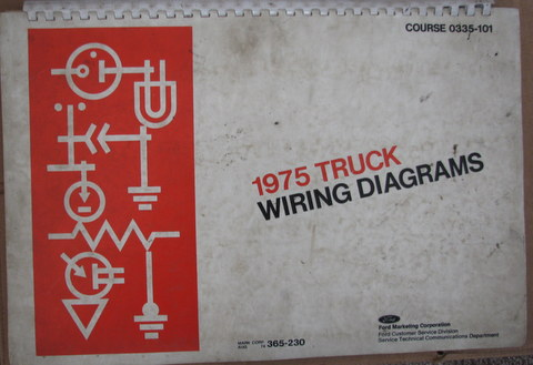 1975 ford truck wiring diagrams manual