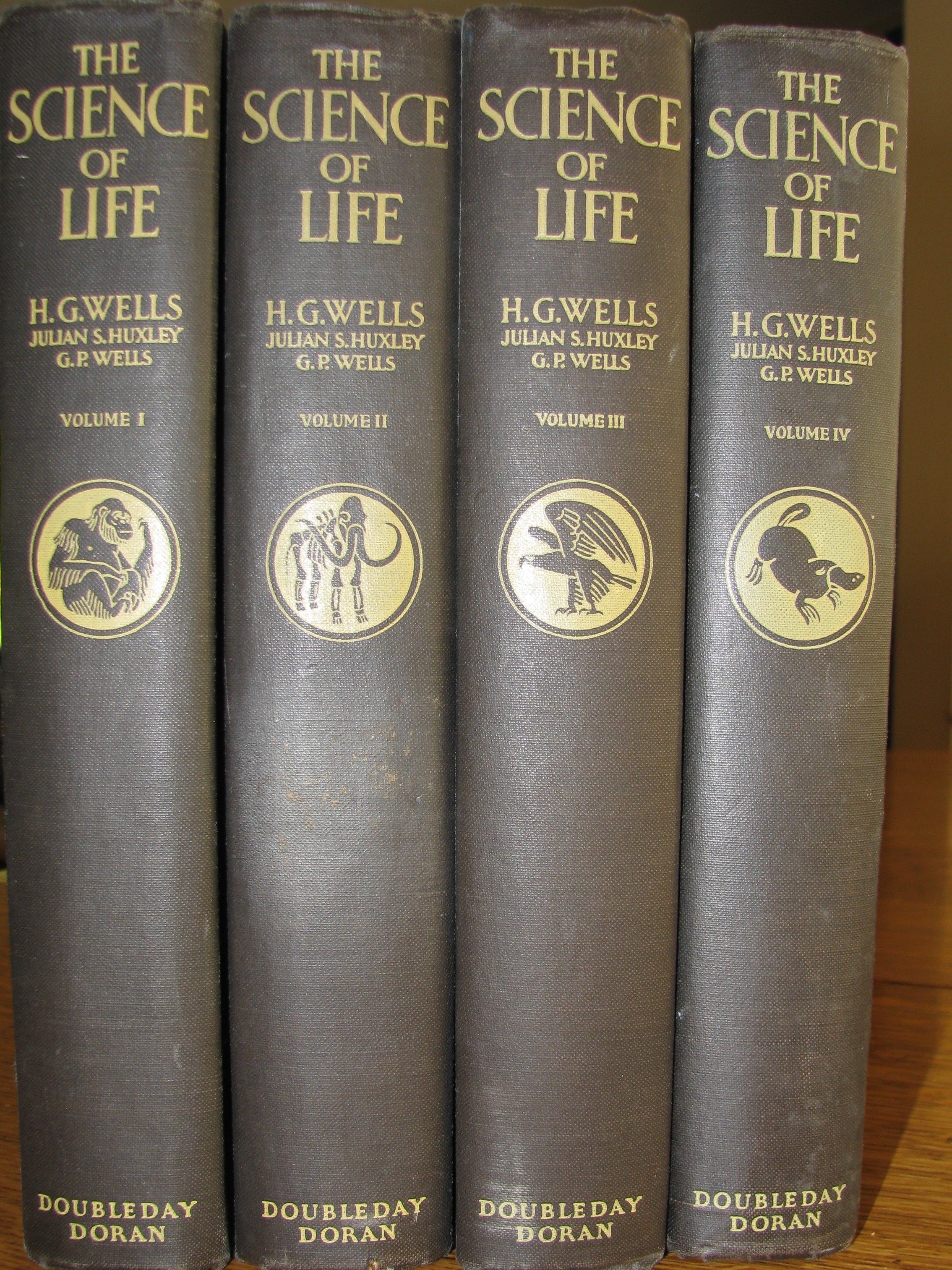 Image for The Science of Life (4 Volume Set)