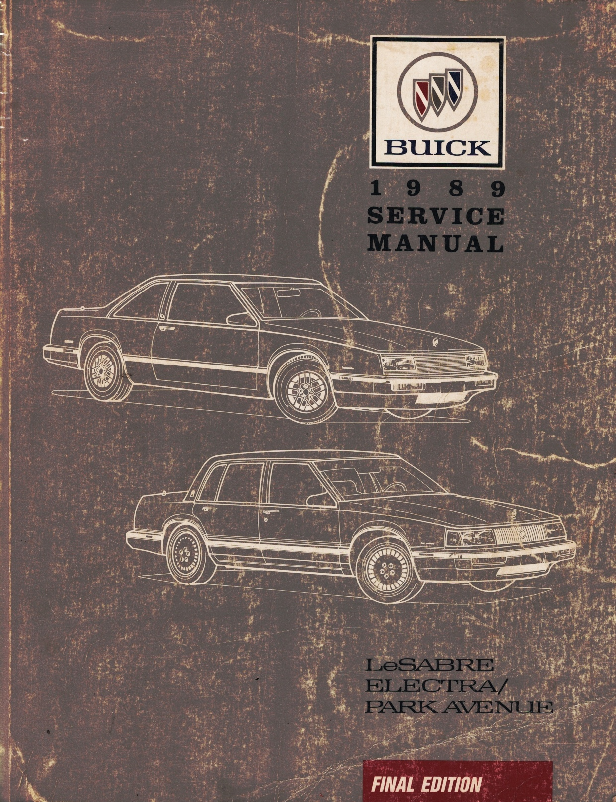 "Image for 1989 Buick LeSabre, Electra / Park Avenue Service Manual - 2 Volume Set; includes the ""Service Manual"", the ""Body Service Manual"""