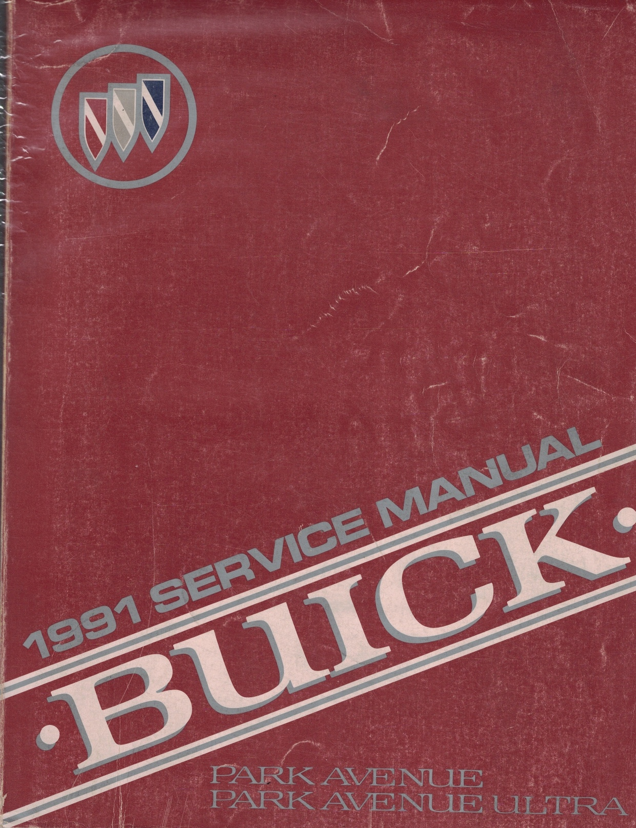 "Image for 1991 Buick Park Avenue And Park Avenue Ultra Service Manual - 2 Volume Set; Includes The ""Service Manual"", And The ""Ultra Supercharged 3800 Engine Supplement"""